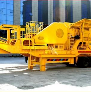 移动混凝土破碎机 移动式石料处理设备 移动石料处理设备 直销