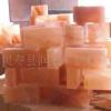 水晶盐砖 水晶盐石 岩盐砖 水晶岩盐 盐矿石qq174240107