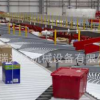 专业生产物流流水线 物流输送线 快递分拣流水线 快递流水线 定制