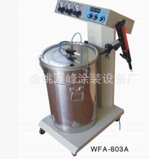 供应静电喷涂配件,不锈钢供粉桶、粉泵、调压阀等