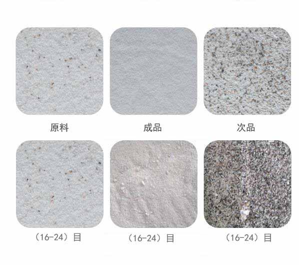 粉粒矿石物料图