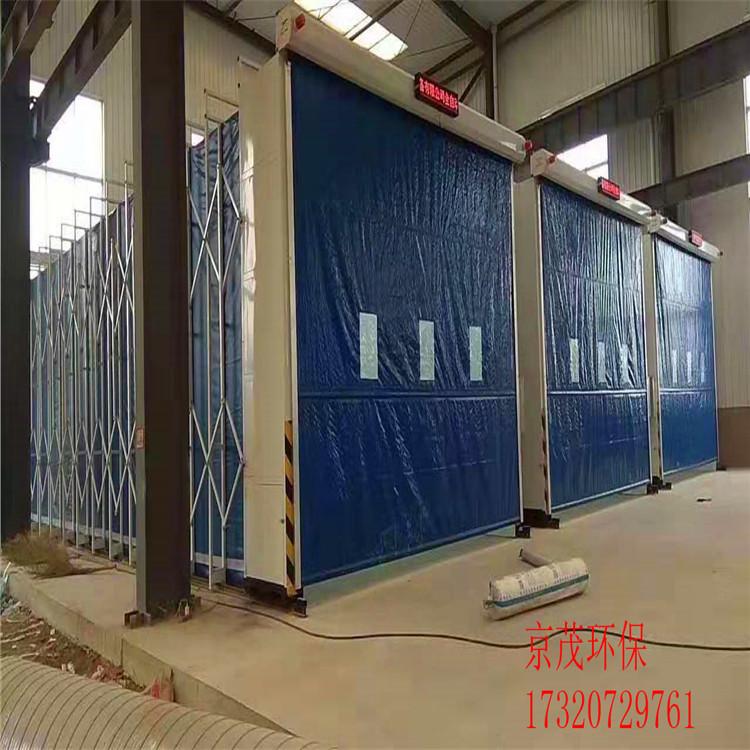 周口大型伸缩移动式喷漆房生产厂家