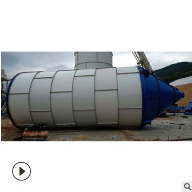 大型散装水泥仓 物料储料罐 100吨立式粉煤灰储罐砂浆罐厂家直供