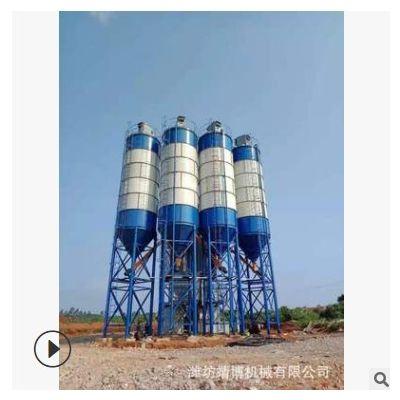 定制各种规格立式水泥罐 大型散装水泥仓立式煤灰水泥仓片状